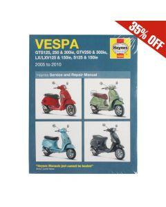 Haynes Manual; Vespa GT, GTS, GTV, LX, S