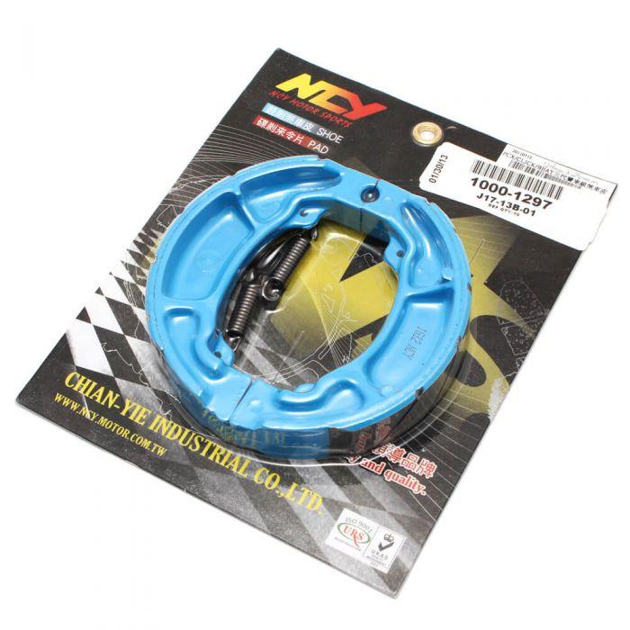 Brake Shoes - (Blue); Honda PCX, (NCY Brand)