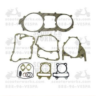 Gasket Set - Engine Bore 62mm; Genuine, GY6 150cc, (NCY Brand)