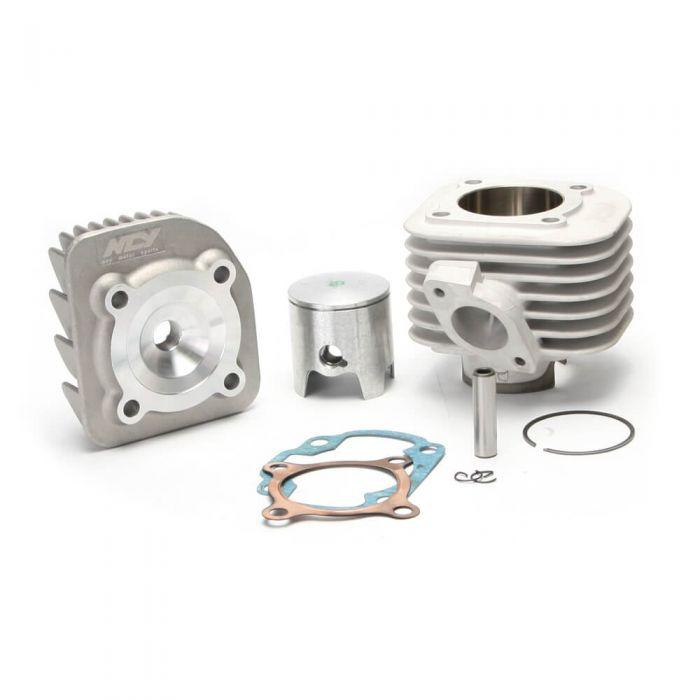Cylinder w/ Head AC (Ceramic,10mm pin); Yamaha/Minarelli, (NCY Brand)