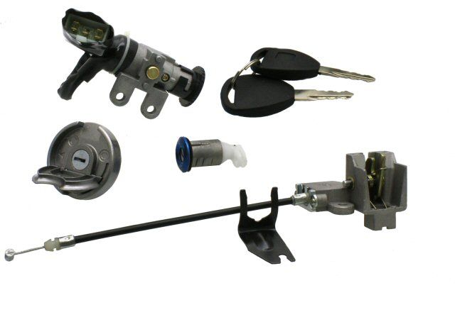 Ignition Switch and Locks for QMB139 50cc Scooters