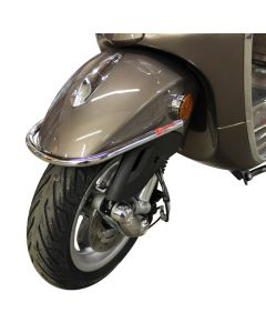 Chrome Fender Bumper for 2014 Vespa Primavera,Sprint