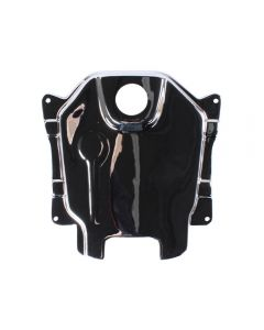 Gas Tank Cover - (Chrome); Honda Ruckus, (NCY Brand)