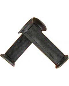 Handlebar - Grips (Black, Rubber) Closed ends, (NCY Brand)
