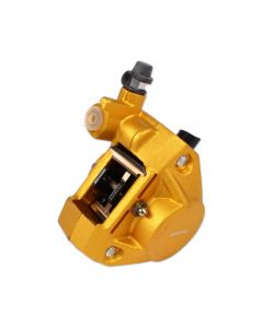 Brake Caliper - Forged; (Gold); Zuma 50, Buddy 50 , RH50, (NCY Brand)