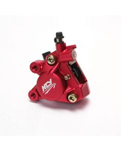 Brake Caliper - Forged; (Red); Zuma 50, Buddy 50 , RH50, (NCY Brand)