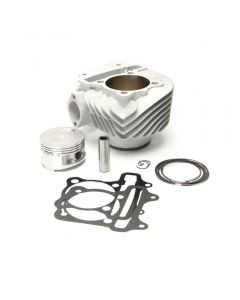 Cylinder Kit - 177cc  (Ceramic,15mm pin) GY6 150cc, (NCY Brand)