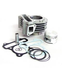 Cylinder Kit - 88cc (Cast; 52mm ); QMB139/GY6 150cc 50, (NCY Brand)