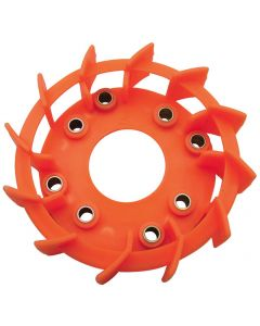 Cooling Fan - Turbo; (Orange), Honda/GY6 150cc 125/150, (NCY Brand)