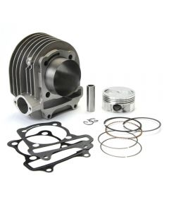 Cylinder Kit (Aluminum, 61mm, 171cc); Genuine/GY6 150cc, (NCY Brand)