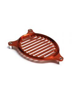 Fan Cover - (Aluminum, Orange); Honda PCX, (NCY Brand)