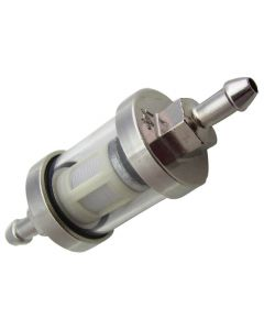 "Fuel Filter - In-line (3.5 Long"" w/ 1/4"" Fittings), (NCY Brand)"
