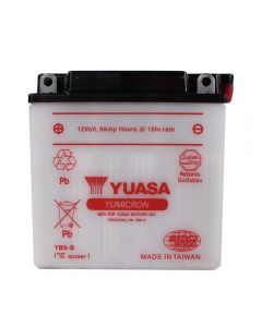 Battery - Yuasa (YB9-B); PX Electric Start, ET4, Stella, etc.