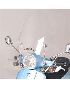Faco, Windshield (Tall, Includes Hardware);  Vespa LX