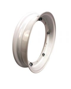 Scooter Rim (3.5x10, white) Vespa Sprint, P, Rally, Stella