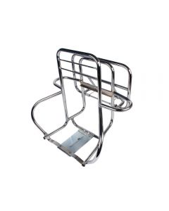 Cuppini Rear Rack (3- Way, Chrome); P/PX, Stella 2T
