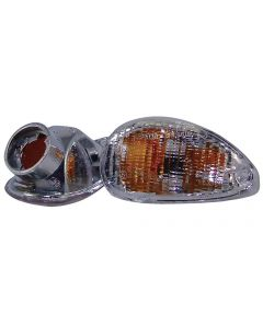 Clear Rear Turn Signals, Euro - Vespa ET2/ET4 (Left and Right set)