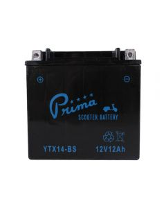 Battery - Prima TX14-BS -  500cc Kymco