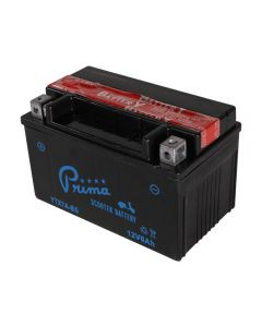 Battery - (12V TX7A-BS);  Genuine, Yamaha, Kymco