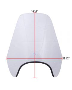 Cuppini, Windscreen (Small); Vespa ET2/ET4