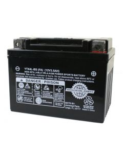 Battery - 12V 3AH  - YTX4L-BS (Factory Activated)