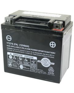 Battery - 12V 6AH  - YTZ7S (Factory Activated)