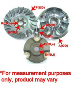 Dr. Pulley Kymco 250 Variator Kit
