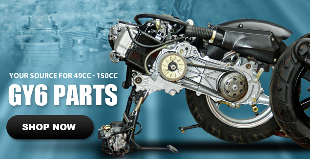 Shop now for 49cc, 125cc, 150cc and 250cc Scooter Engine Parts.